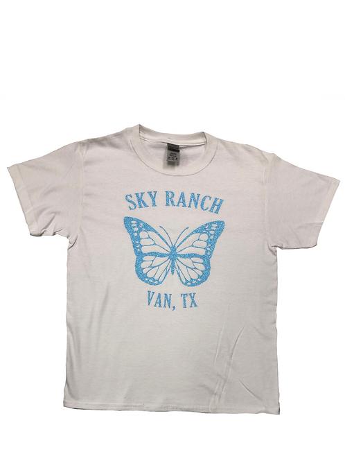 Sky Ranch Sparkle Butterfly Tee
