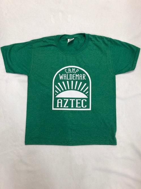 Aztec Heather Green Sunrise Shirt