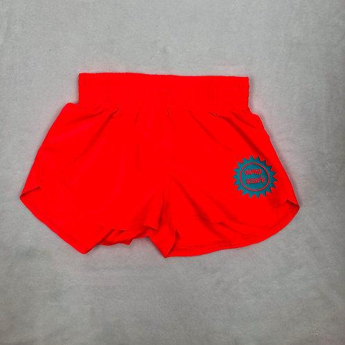 Camp Ozark Neon Orange Sunshine Shorts