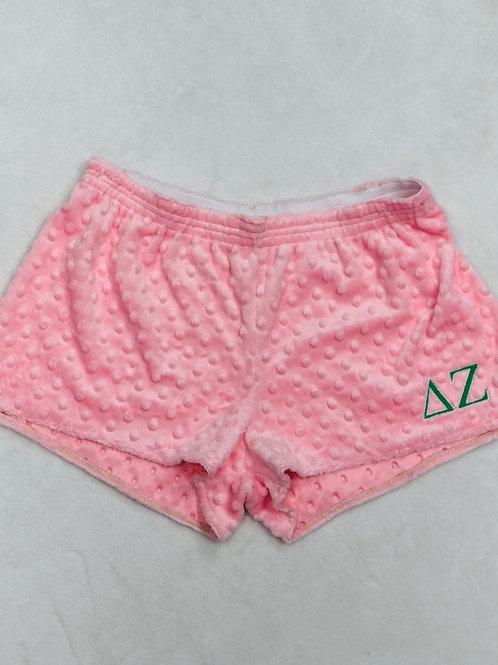 Delta Zeta Minky Dot PJ Shorts
