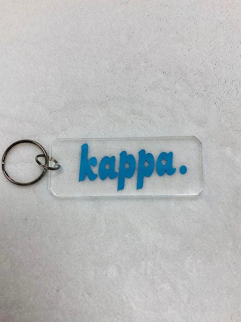 Kappa Kappa Gamma Acrylic Keychain