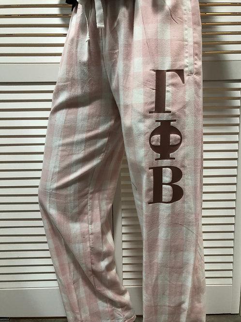 Gamma Phi Beta Buffalo Plaid Flannel PJ Pants