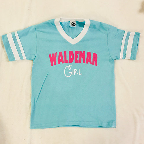 Camp Waldemar Girl V Neck Shirt