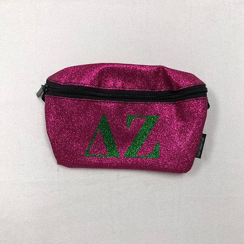 Delta Zeta Glitter Fanny Pack