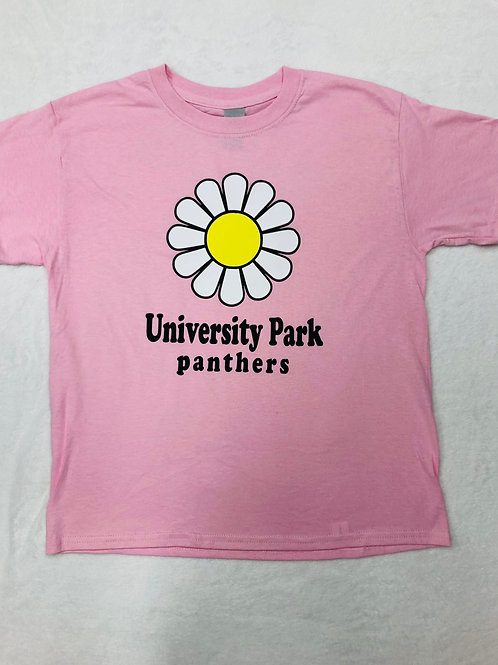 University Park Panthers Flower Power Tee