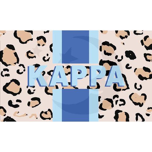 Kappa Kappa Gamma Leopard Flag