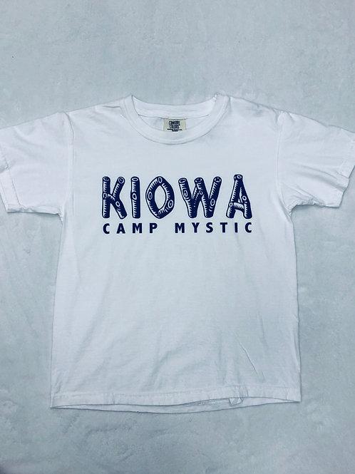 Kiowa (Camp Mystic) White Log Shirt
