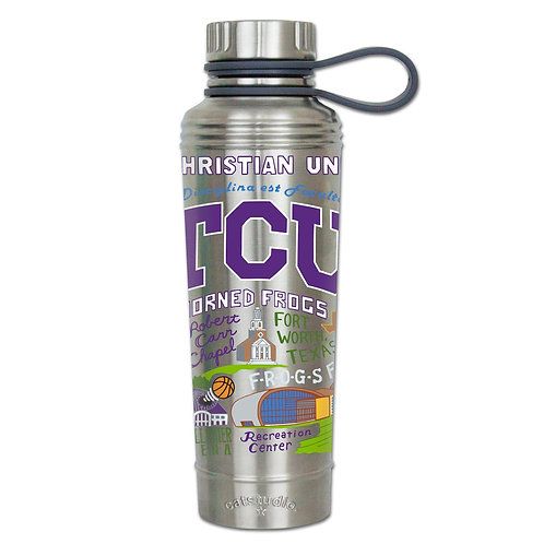 TCU Stainless Steel Water Bottles