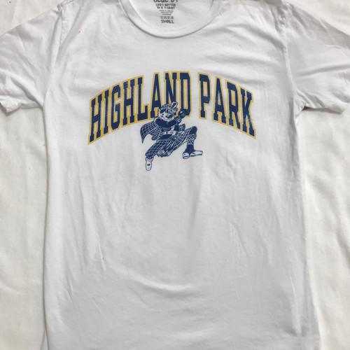 Mccartneys university spirit dallas tx gifts highland park highland park adult white short sleeve shirt negle Image collections