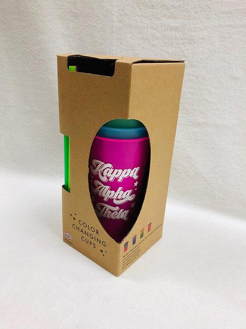 Kappa Alpha Theta Color Changing Tumblers
