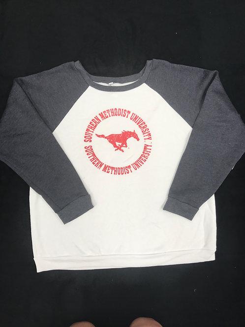 SMU Women's Crew Neck Sweatshirt