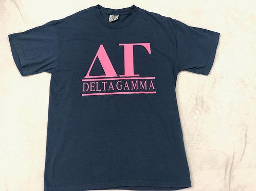 Delta Gamma Comfort Colors Tee