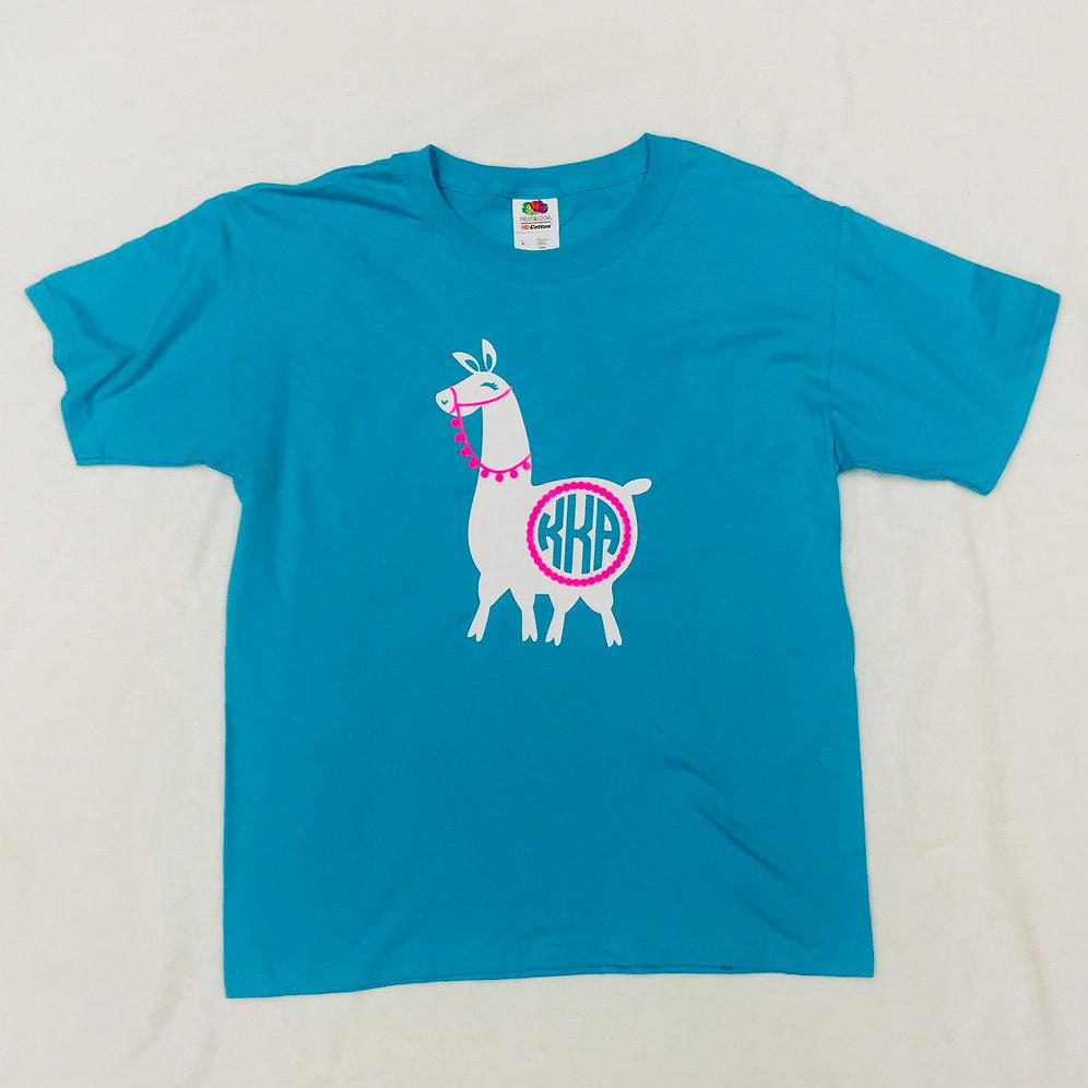 7aa78ad56272c Llama Monogrammed Shirt | mccartneysonline
