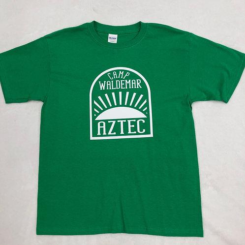 Aztec Kelly Green Sunrise Shirt