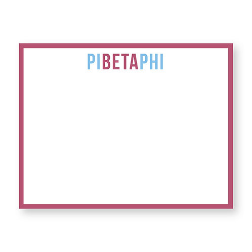 Pi Beta Phi Notecards - Set of 10