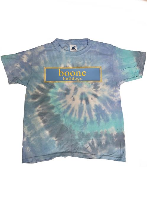 Boone Elementary Tie-Dye Prep Design T-Shirt