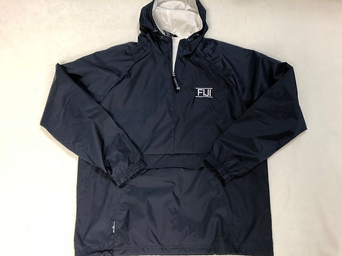 FIJI 1/4 Zip Rain Jacket