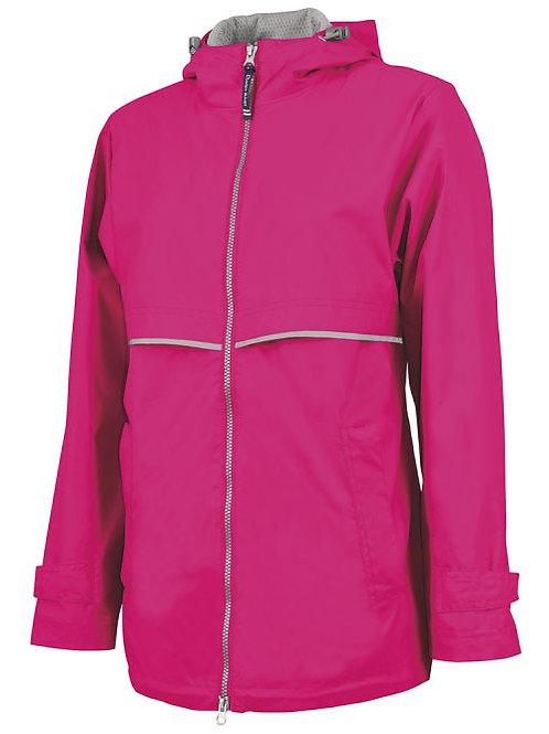 Adult Blank Full Zip Rain Jacket