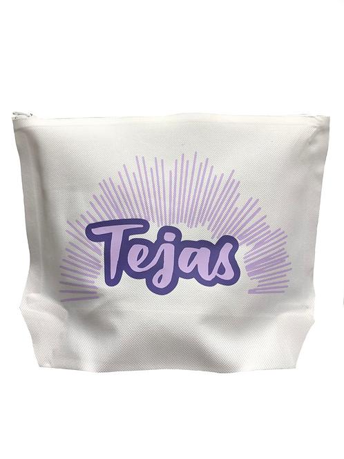 Tejas White Canvas Bag