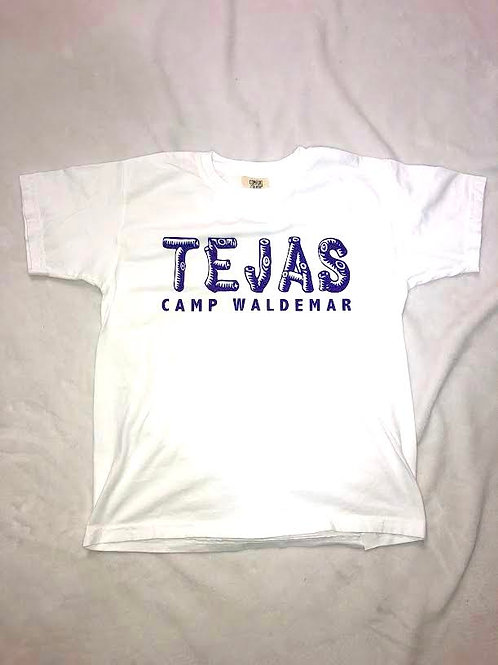 Tejas White Log Shirt