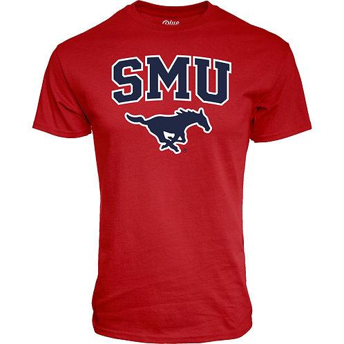 SMU Short Sleeve Tee - Red