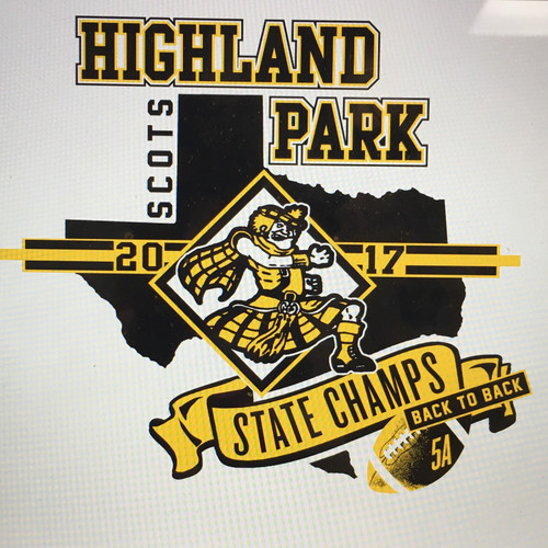 Mccartneys university spirit dallas tx gifts highland park highland park white and gray state champ shirts negle Image collections