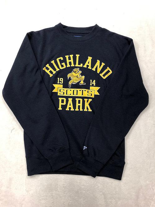 Highland Park Classic Crew Sweatshirt - Navy