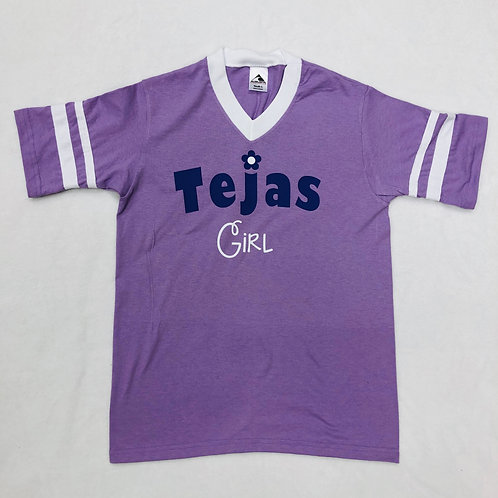 Tejas Girl Lavender V Neck Shirt