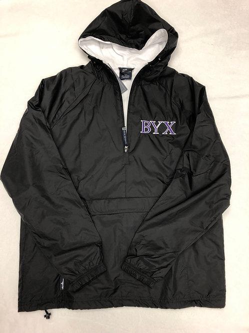 Beta Upsilon Chi 1/4 Zip Rain Jacket