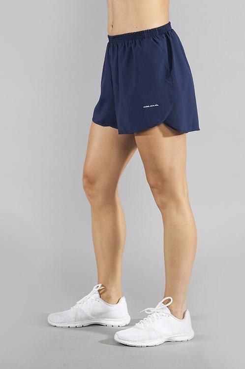 """1.5"""" Split Trainer Navy Shorts"""