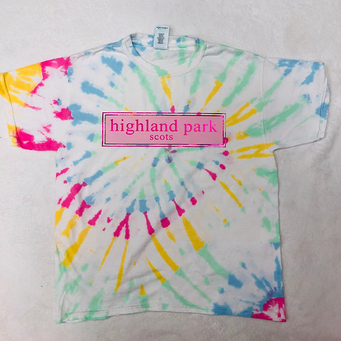 Highland Park Tie Dye Prep Design In Pink