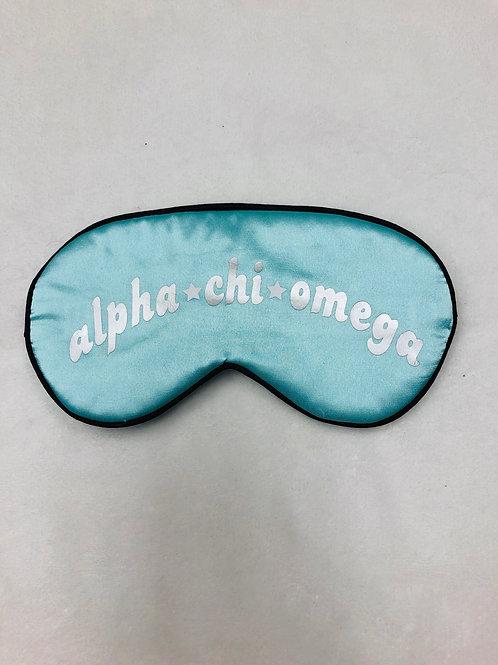 Alpha Chi Omega Sleep Mask