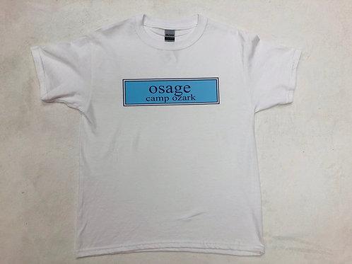 Osage White Prep Design Tee
