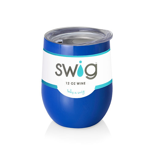 Blank Royal Swig 12 oz Wine Glass