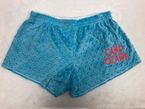 Camp Ozark Minky Dot PJ Shorts