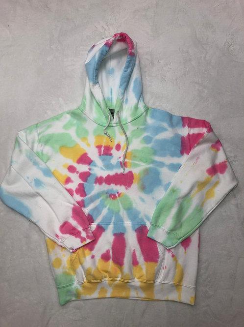 Adult Plain Tie Dye Hoodie