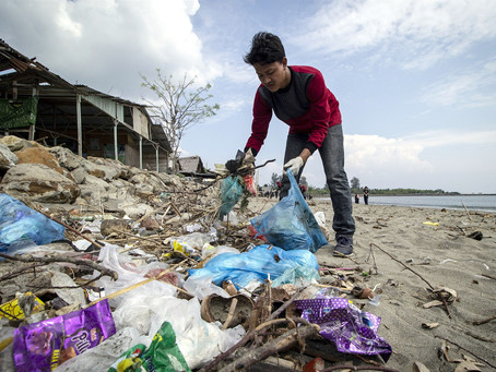 Almost every country in the world agrees deal to cut plastic pollution - except the US