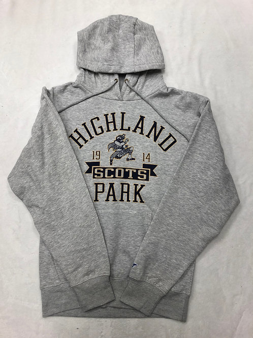 Highland Park Classic Hoodie Sweatshirt - Grey
