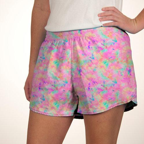 Tie Dye Pastel Summer Shorts