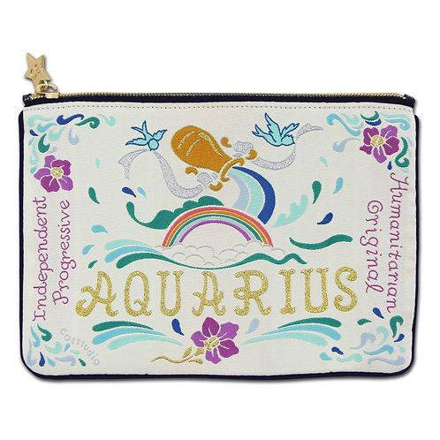 Aquarius Zip Pouch
