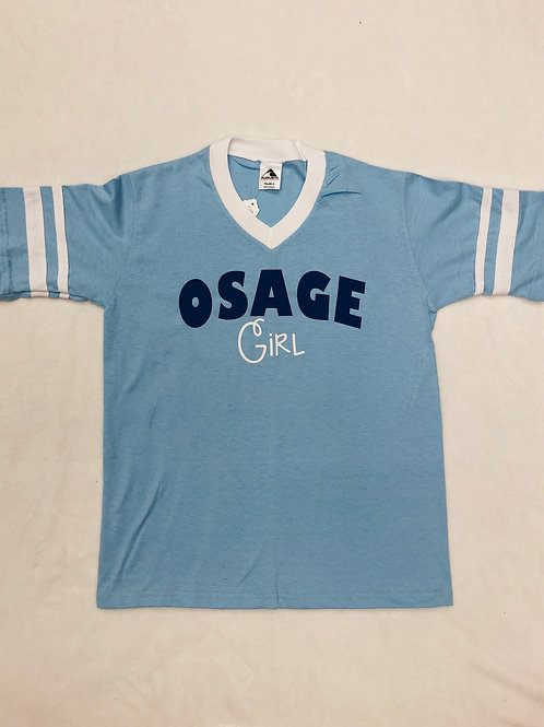 Osage Girl V Neck Shirt