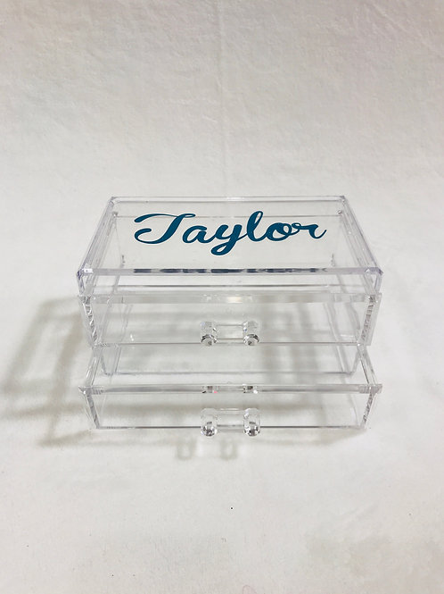 Personalized Acrylic Drawers