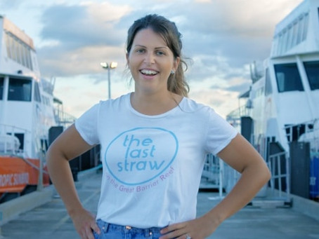 Nicole Nash Eco-warrior helps ban single use plastic straws in Queensland