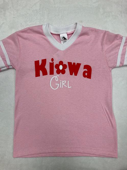 Kiowa (Kanakuk) Girl V Neck Shirt