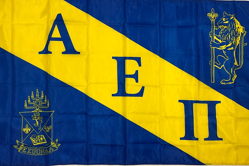 Alpha Epsilon Pi Fraternity Chapter Flag
