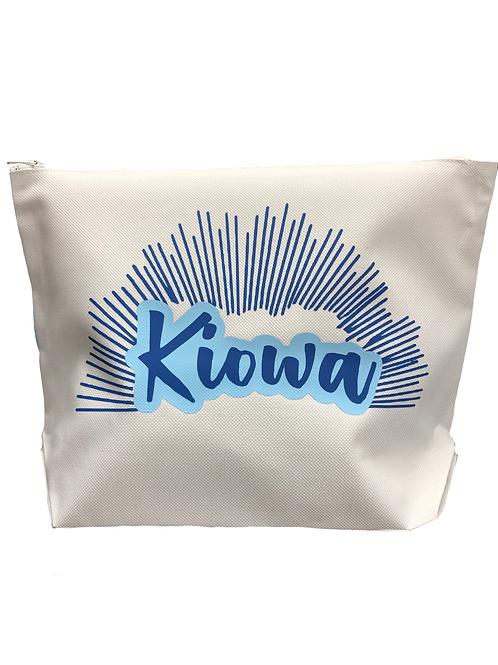 Kiowa White Canvas Bag