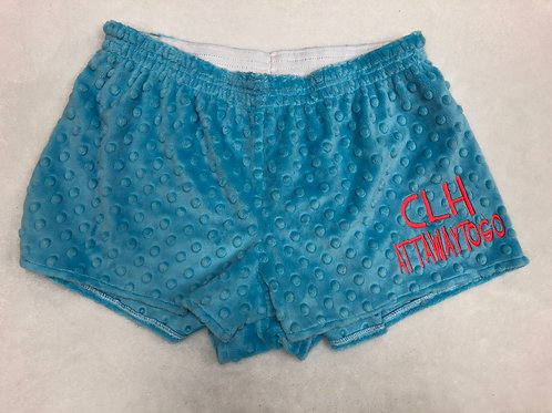 CLH Attawaytogo Minky Dot PJ Shorts