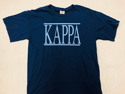 Kappa Kappa Gamma Comfort Colors Tee