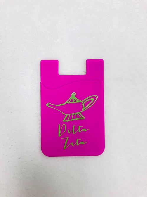 Delta Zeta Colored Phone Pouch