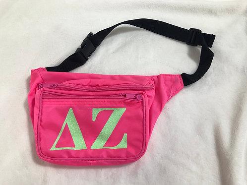Delta Zeta Neon Fanny Pack